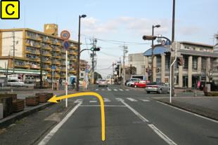水前寺公園ペットクリニック車でのアクセス3