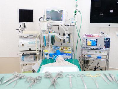 水前寺公園ペットクリニック手術室